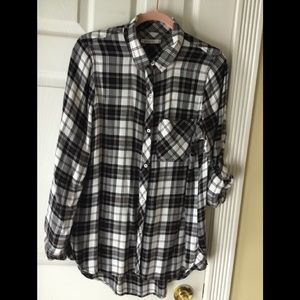 Kenneth Cole Reaction long sleeve flannel.